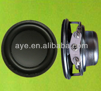 40mm 4ohm 4W double magnet pa woofer