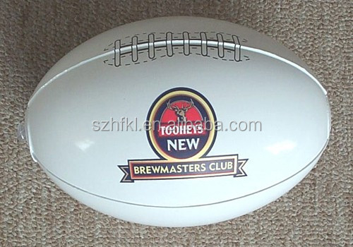 mini american football with logo printed for kids