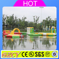 2016 large outdoor water mobile amusement park for sales