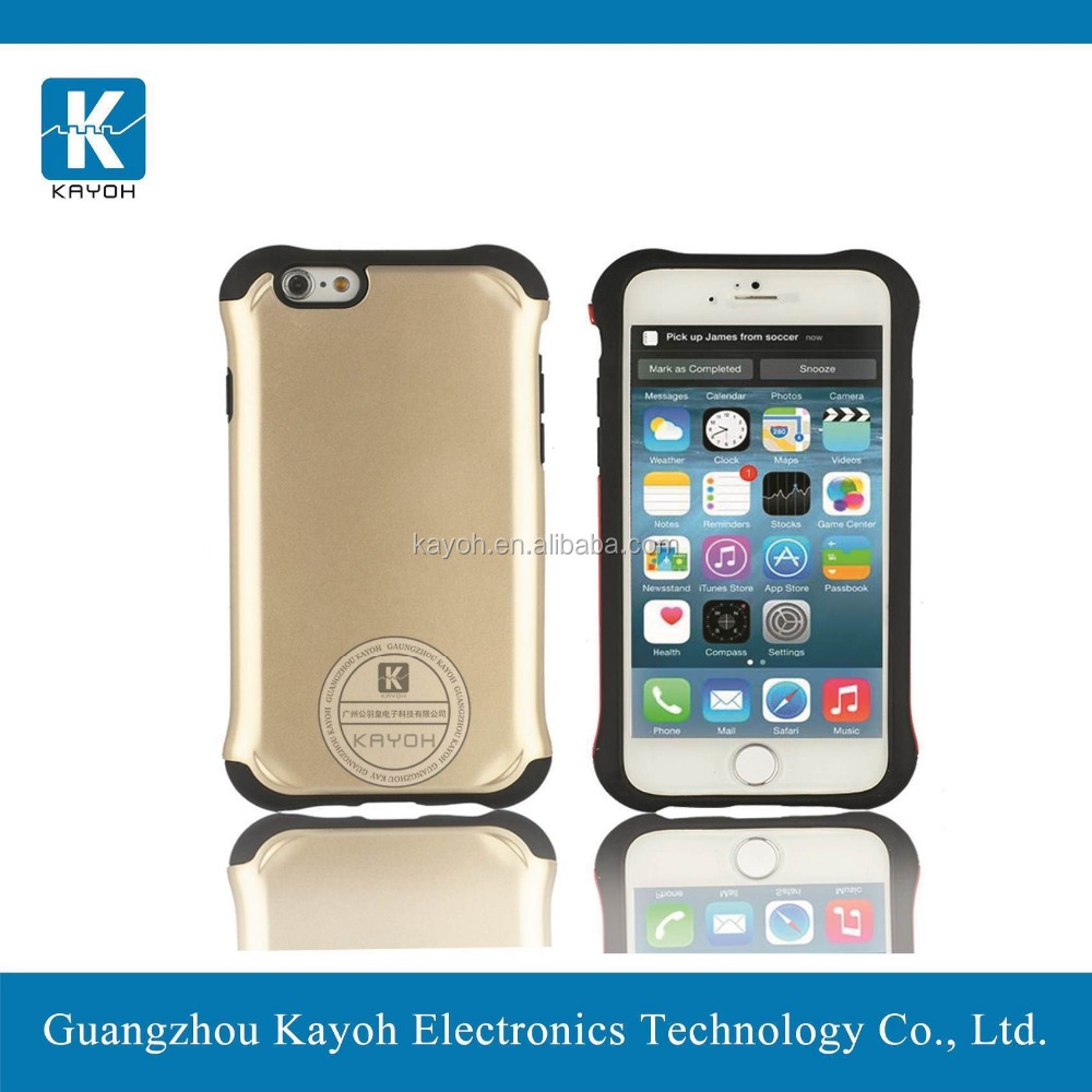 [kayoh] aluminum bumper case for iphone 5 case tpu&pc armor case