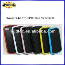 Water Cube Case For Blackberry Q10,TPU+PC Case Cover,All color avialble--Laudtec