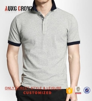 Top Quality Fancy Design Oem Manufacture Heavy Weight Mens Polo Tshirts