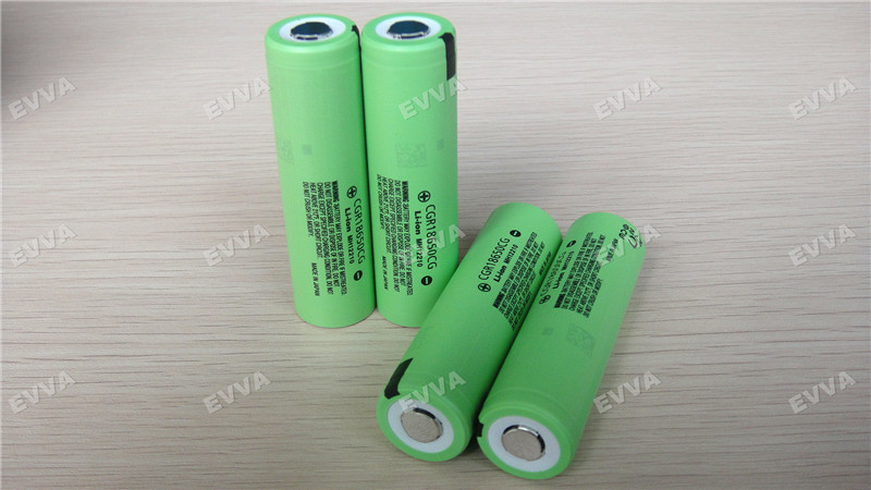 Original Grade A for Panasonic 18650 lithium ion battery cell 3.6V 2250mAh CGR18650CG