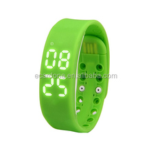 Water-proof RFID/NFC silicone slap fitness wristband/bracelet for sport and access control