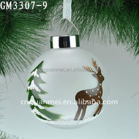 lighting decorating christmas hollow glass ball
