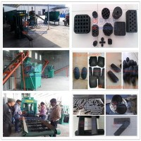 Hydraulic or mechanical pressure press sawdust charcoal briquette machine , wood coal briquette machine price
