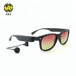 High Quality Wireless Glasses TAC Polarized Bluetooth Sunglasses For Outdoor Driving