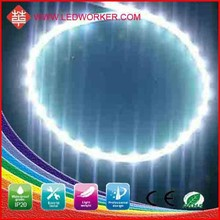 rgb led round Super lumen STRIP LIGHT DC12v smd 335 60leds/m 6-7LM/pcs aluminum led strip light