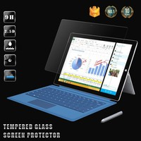 0.26mm Thickness Anti uv 9H Anti-radiation laptop tempered glass screen protector for Surface Pro 3