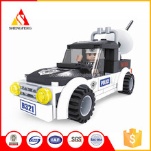 new design building block mega block marble block ploice car