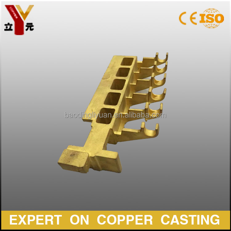brass investment casting motor carbon brush box