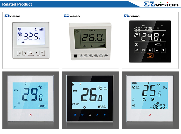 HVAC electronic digital valve controller programmable LCD radiator thermostat