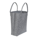 Latest styles ladies office bags felt handbag women