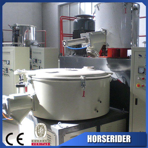 Best price and high output 100-1500kg/h plastic resin mixing machine