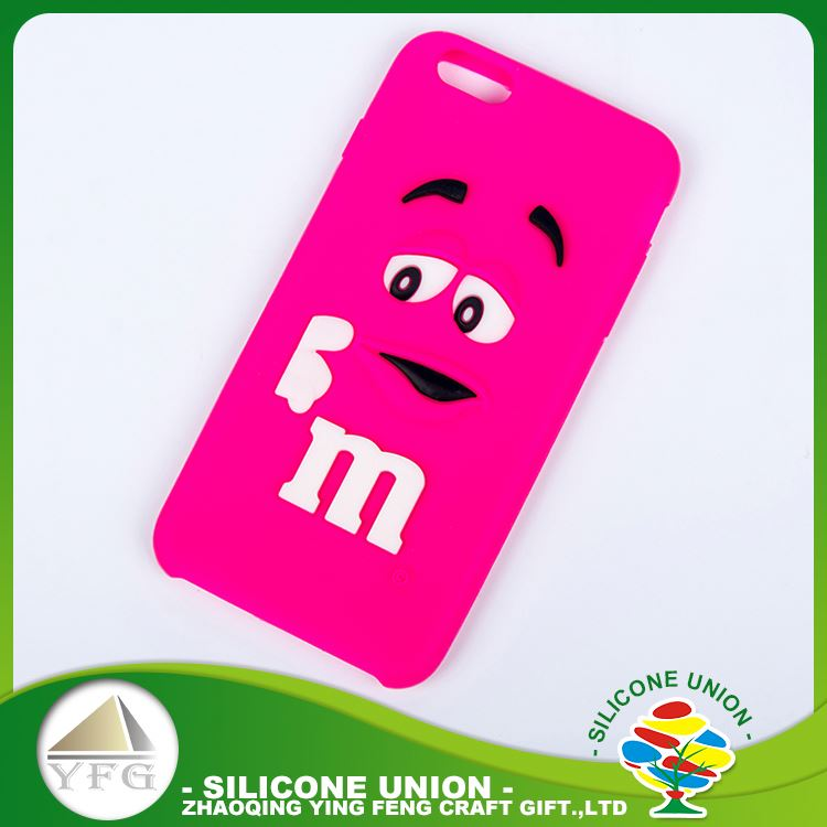 Functional custom logo silicone phone cover