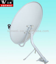 ku band 75cm satellite dish tv antenna