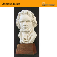 famous busts musician Beethoven