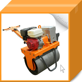 Single-Drum Road Roller Machine with Honda Engine