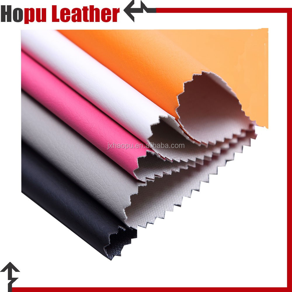 100 pu synthetic matte faux leather for box lining material
