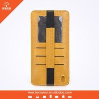 2015 Popular cell phone case genuine leather phone case for iphone 6