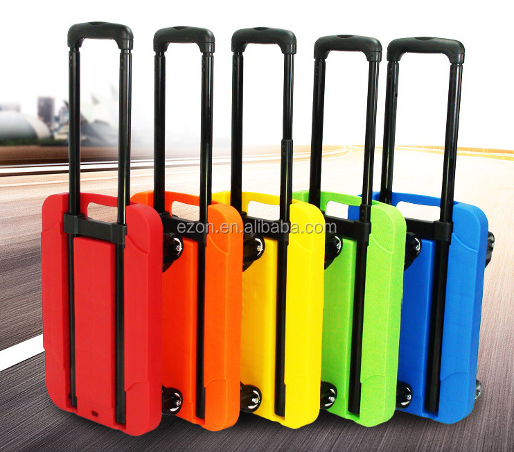 New style folding luggage cart Carrier,Multifunctional folding luggage cart,Portable 4 wheels hand cart