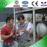 fuel oil refining waste tire pyrolysis equipment