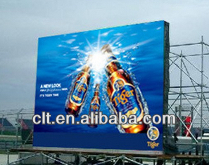 P10 Outdoor full color LED video wall/screen/panel for advertising led display