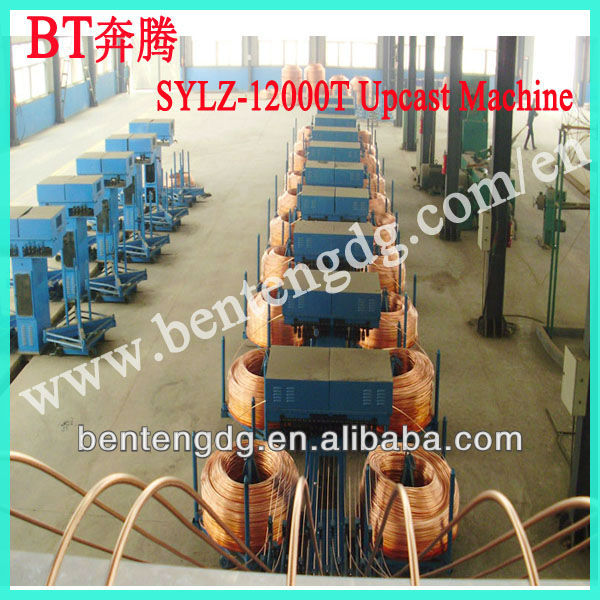 Electrolytic copper cable making machine