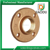 taizhou manufacturer low price customized 11/2 inch brass forged natural gas pipe flange fittings