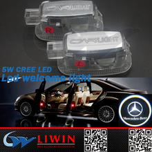 50% off hot selling 12v 5w car logo for LIWIN auto car logo led laser light