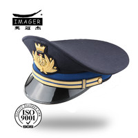 Cheap custom made royal navy officer hats for sale