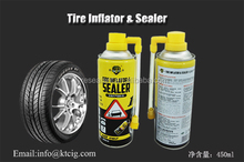 Tire Sealer And Inflator, Tire Repair Spray