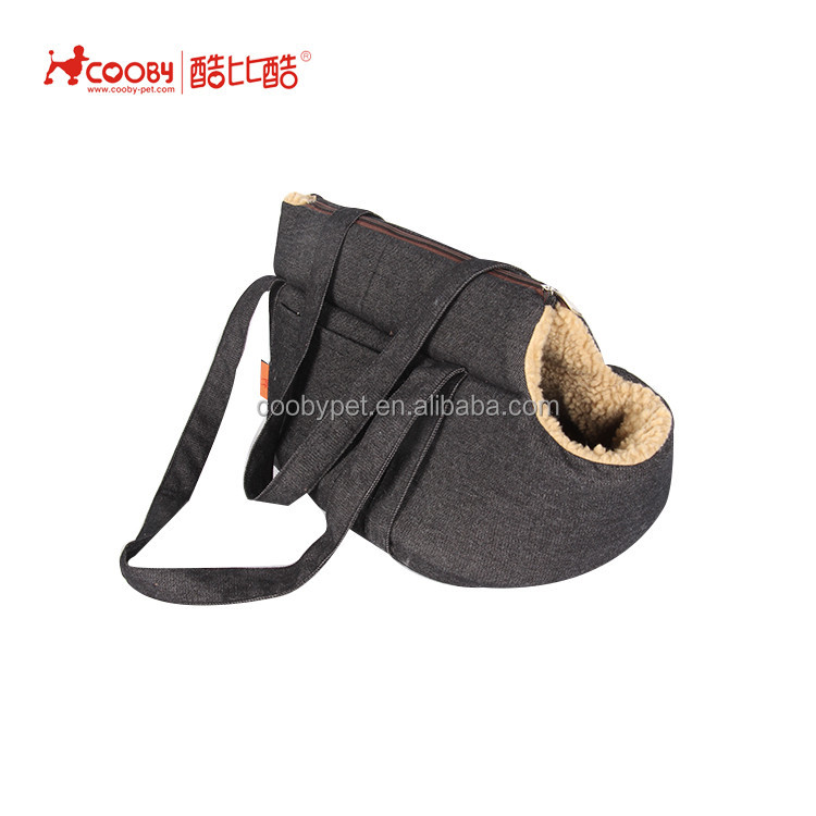 Low MOQ Portable Comfortable Travel lamb wool sexy dog pet carrier