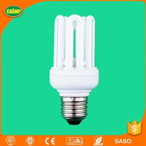 2017 ningbo new factory product well sell ISO UL CE LVD CEM RoHS SASO AK Approved U energy saving bulbs manufacturers in china