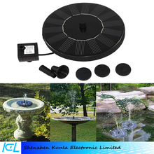 Floating Solar Powered Garden Water Fountain Pump for Pond