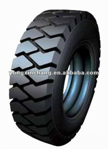 Solid tyre for forklift truck
