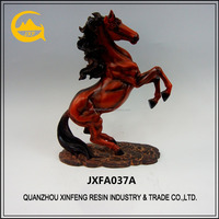 Customized polyresin horse sculpture for home decoration