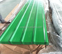 5.8m length Waterproof building materials corrugated roofing sheet cheap