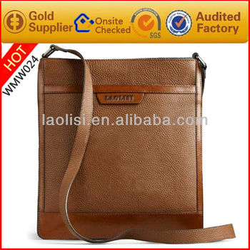 2013 new model synthetic leather shoulder bag for men's shoulder bag