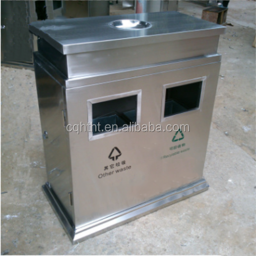 New arrival recyclable stainless steel dustbin