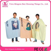China Wholesale Custom peva/pe/vinyl hairdressing cape/cover