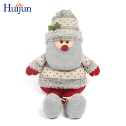 Large sitting Santa Claus outdoor decoration