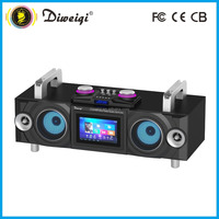 Stereo home speaker with 2.1 channel speaker