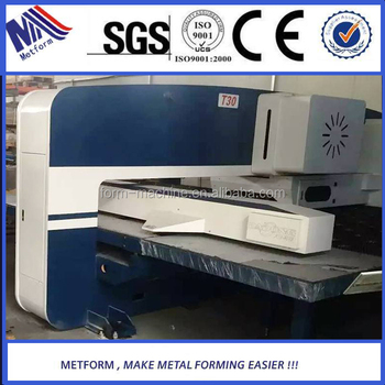 Best price for 24 stations mechanical cnc punching machine/cnc turret punch press