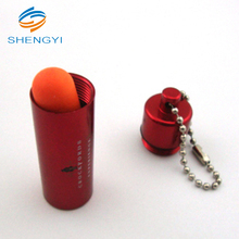 Ultimate softness series bullet foam earplug with keychain for airline and shooting