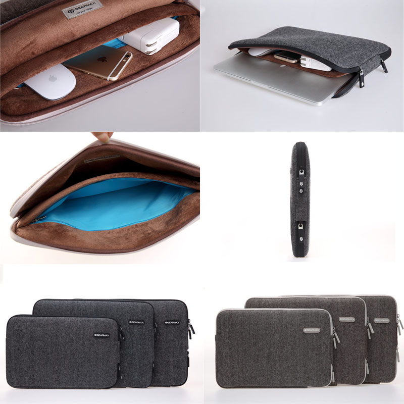 High quality Buiness Laptop Sleeve Bag for Macbook Retina12'' , For Macbook Tablet Case Bag