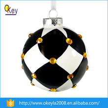 Decorating Glass Football Ornaments,Unusual Glass Ornaments