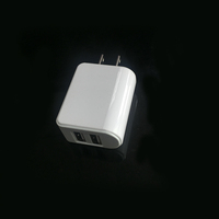 New Design High Quality 5V 3.1A Fast Charging EU Travel Adapter Multi Port USB Wall Charger