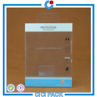 transparent plastic box for phone case package
