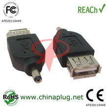 USB female to 3.5mm male adapter dc connector